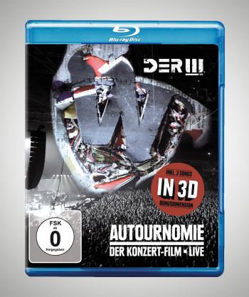 DER W Autournomie: Der Konzertfilm - Live Blu-Ray