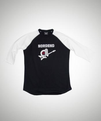 NORDEND Schwarz/Weiß (3/4 Arm)