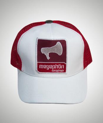 MEGAPHÖN Weiß/Rot