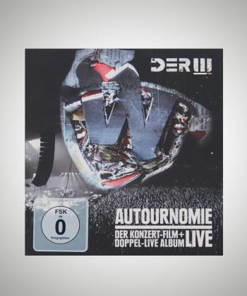 DER W Autournomie/Live DVD+CD
