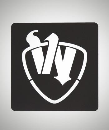 Schablone: W Logo